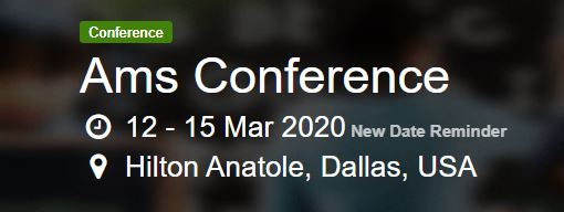 AMS Conference 2020